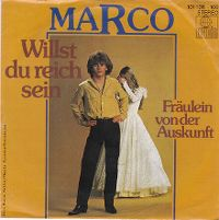 Cover Marco [DE] - Willst du reich sein
